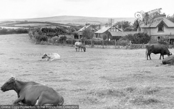 Photo of Wheddon Cross, And Dunkery Beacon c.1950