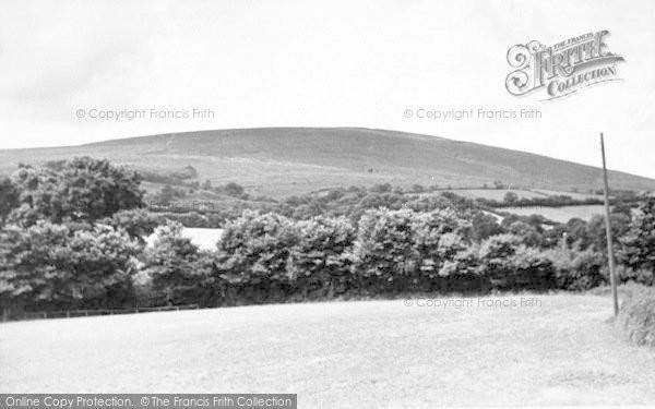 Photo of Wheddon Cross, Dunkery Beacon c.1955