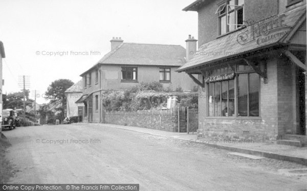 Photo of Wheddon Cross, Exmoor House And Dunkery View c.1950