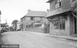 Exmoor House And Dunkery View c.1950, Wheddon Cross