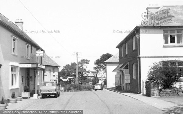 Photo of Wheddon Cross, Rest And Be Thankful Hotel c.1965