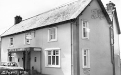 Wheddon Cross, Rest And Be Thankful Hotel c.1965