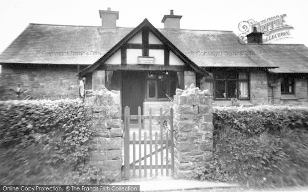 Photo of Wheddon Cross, The Post Office c.1965