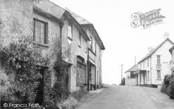 The Village c.1955, Wheddon Cross