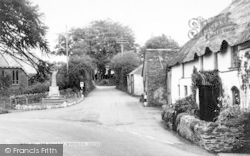 The Village c.1965, Wheddon Cross