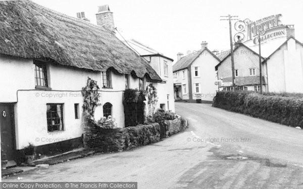 Photo of Wheddon Cross, The Village c.1965