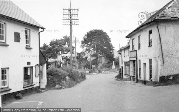Photo of Wheddon Cross, View Facing East c.1950