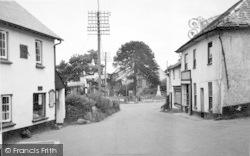 View Facing East c.1950, Wheddon Cross