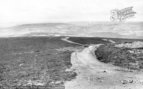 Photo of Wheddon Cross, View From Dunkery Hill c.1965