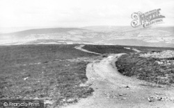 View From Dunkery Hill c.1965, Wheddon Cross