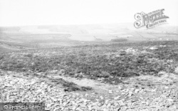 Wheddon Cross, View From Dunkery Hill c.1965