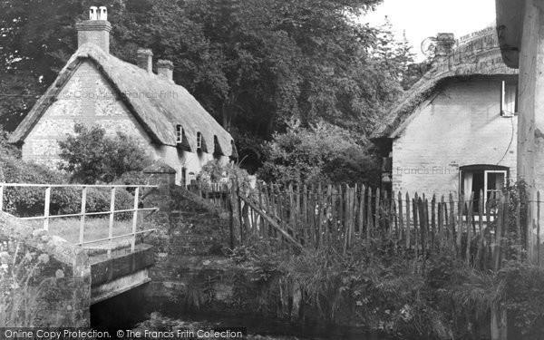 Photo of Wherwell, c.1955
