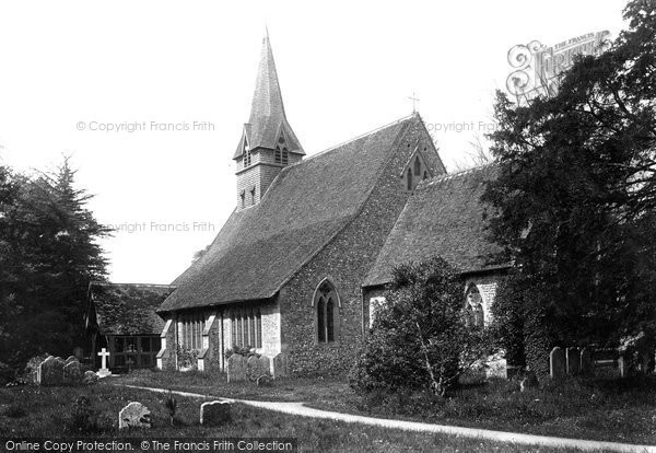 Photo of Wherwell, The Church Of St Peter And Holy Cross 1901