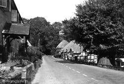 Wherwell, The Village c.1955