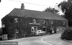 Wherwell, The White Lion Hotel 1952