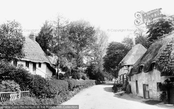 Photo of Wherwell, Village 1901