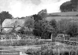 Wherwell, West Mill Cottage c.1930