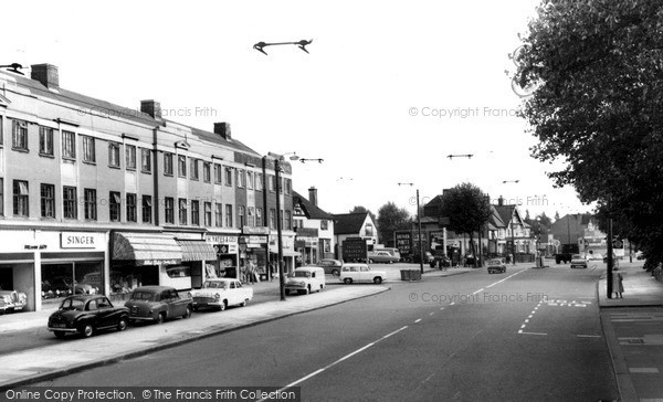 Photo of Whetstone, High Road c.1955