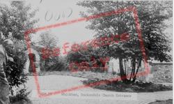Dockendale Church Entrance c.1955, Whickham