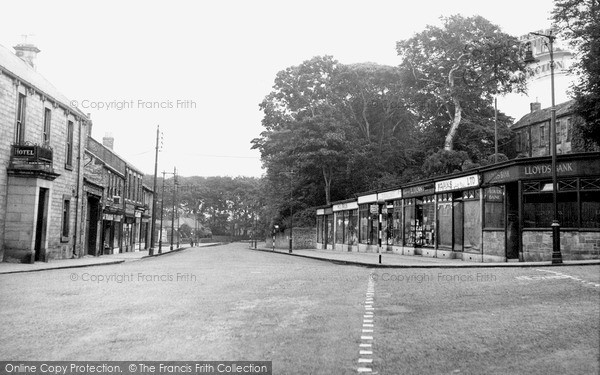 Photo of Whickham, Front Street c.1955