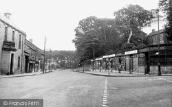 Whickham, Front Street c.1955