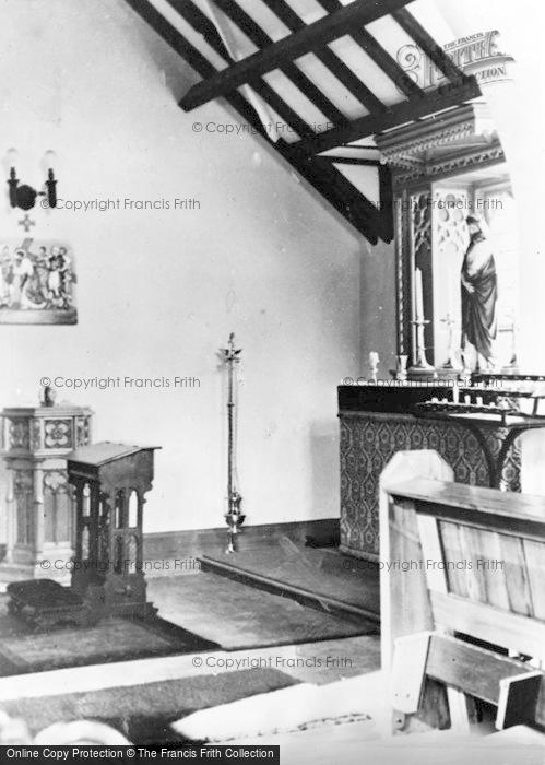 Photo of Whickham, The Lady Chapel, Roman Catholic Church c.1955