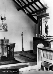 Whickham, The Lady Chapel, Roman Catholic Church c.1955