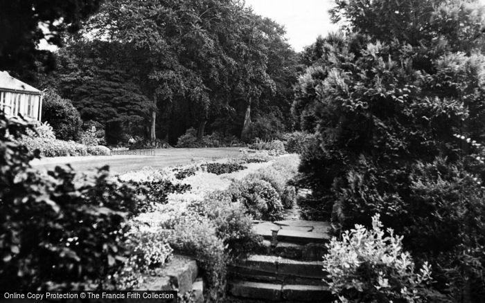 Photo of Whickham, The Park c.1955