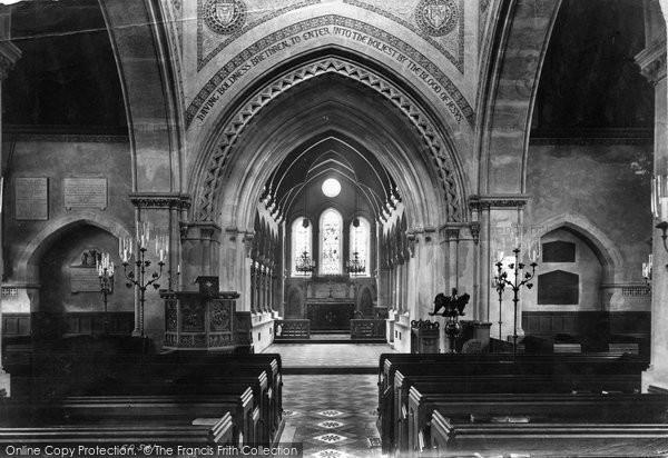 Photo of Whippingham, Church Interior 1908