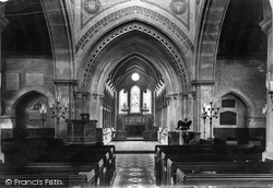 Church Interior 1908, Whippingham