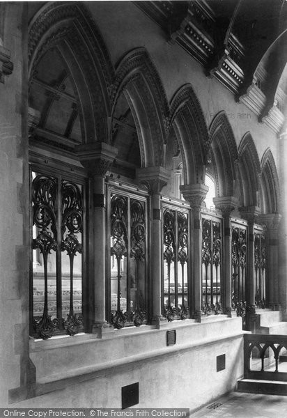 Photo of Whippingham, Church, Prince Henry Battenberg's Memorial Chapel 1908