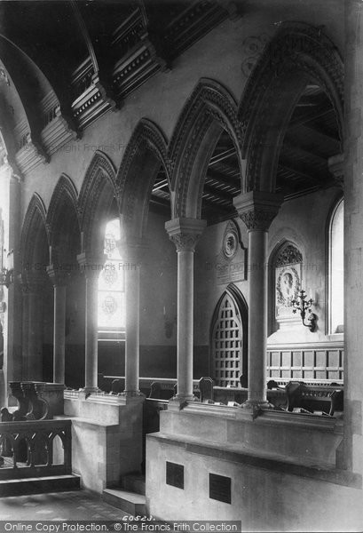 Photo of Whippingham, Church, Royal Pew 1908