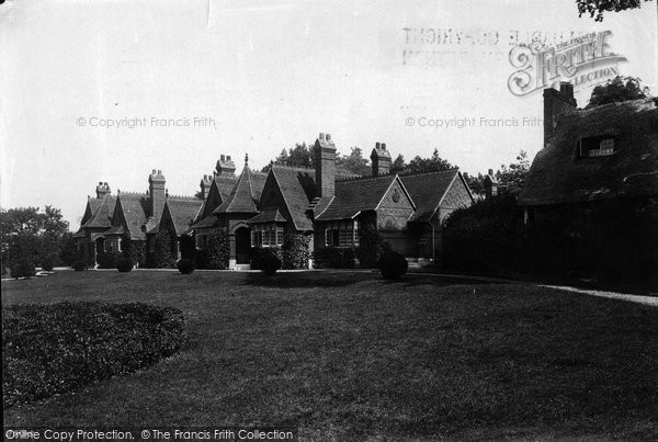Photo of Whippingham, Queens Almshouses 1890