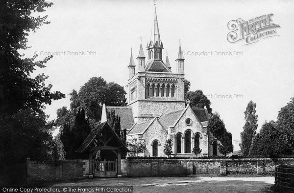 Photo of Whippingham, St Mildred's Church 1890