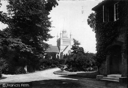 St Mildred's Church 1890, Whippingham