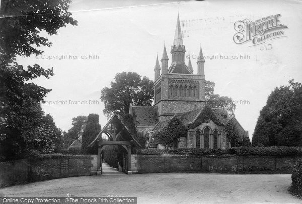 Photo of Whippingham, St Mildred's Church 1908