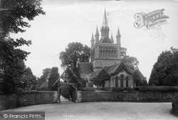St Mildred's Church 1908, Whippingham
