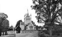 St Mildred's Church c.1955, Whippingham