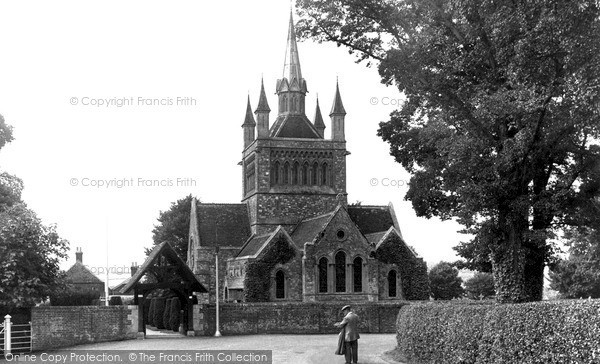 Photo of Whippingham, St Mildred's Church c.1955