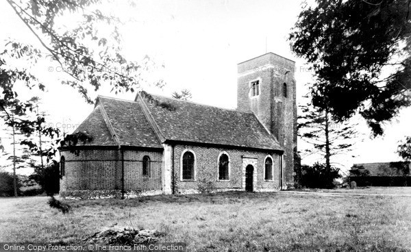 Photo of Whipsnade, St Mary Magdalene's Church c.1960