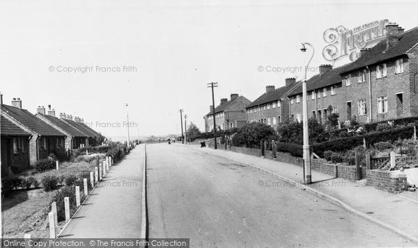 Photo of Whiston, Birchall Avenue c.1960