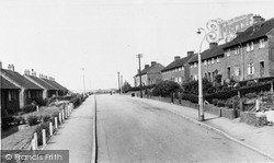 Birchall Avenue c.1960, Whiston