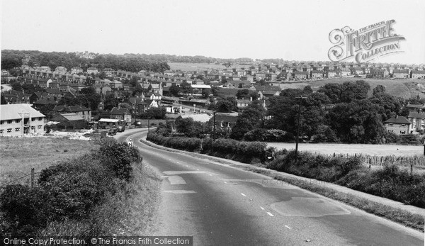 Photo of Whiston, General View c.1960