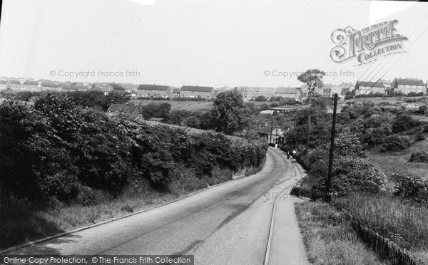 Photo of Whiston, Moorhouse Lane c.1960