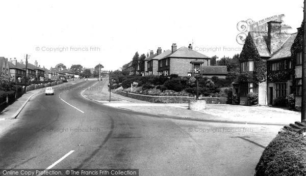 Photo of Whiston, Pleasley Road c.1960