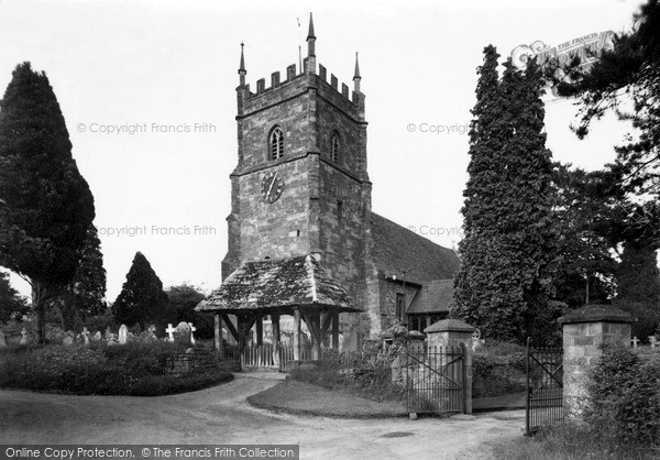 Photo of Whitbourne, The Church c.1955