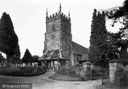 Whitbourne, The Church c.1955