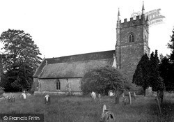 The Church c.1955, Whitbourne