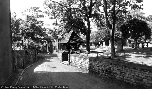 Photo of Whitburn, Church Lane c1955
