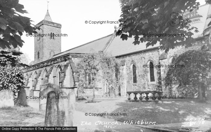 Photo of Whitburn, The Church c.1955
